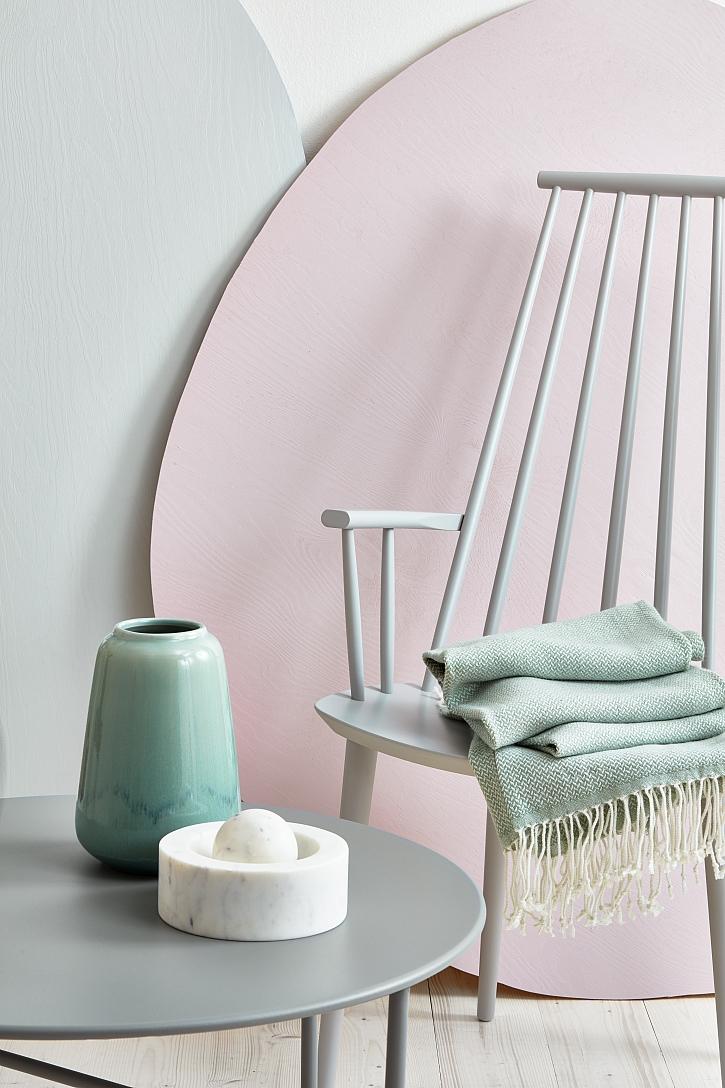 pastelové barvy pokoje