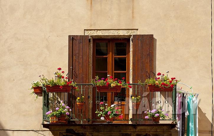 Různé využití balkonu