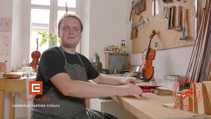 Václav Pikrt - houslař, který pracuje pro potěšení druhých (Zdroj: Prima DOMA)