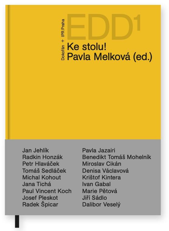 Ke stolu! je název nové knihy, kde se známé osobnosti zamýšlejí nad rozvojem a životem v Praze (Zdroj: Ester Havlová)