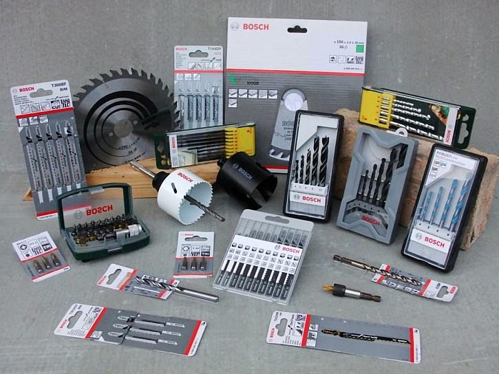 Bosch – příslušenství a nástroje