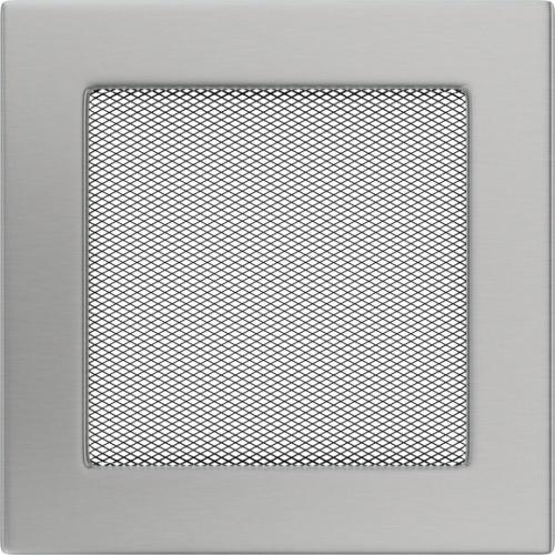 Krbová mřížka 17x17 BASIC broušený nerez