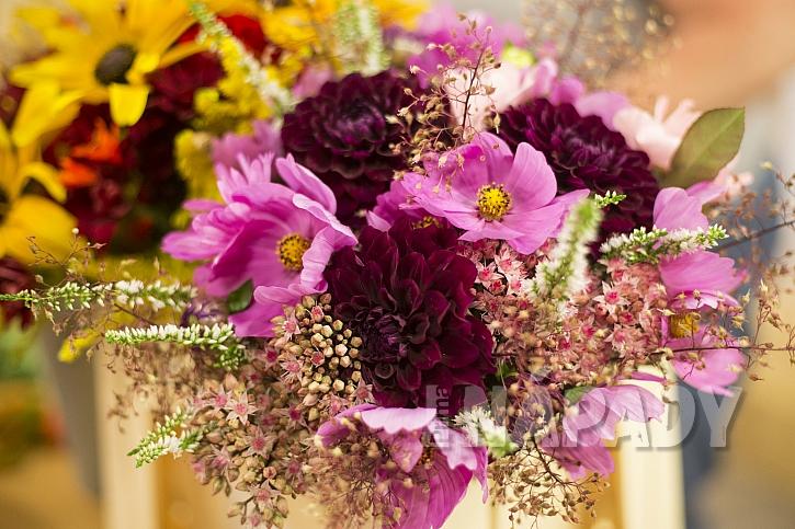 Podzimní kytice aneb Čas vřesů, jiřinek, chryzantém i aster 1