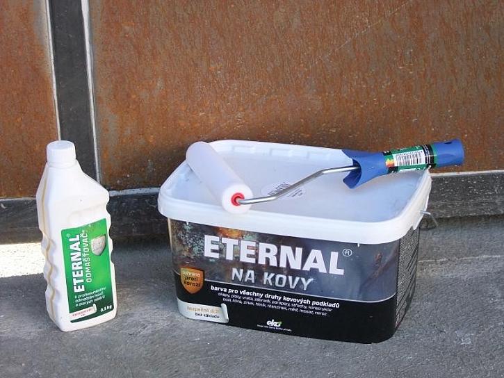 ETERNAL na kovy - samozákladující antikorozní ochrana