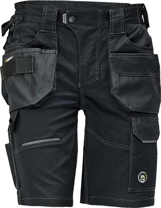 Černé pracovní šortky DAYBORO