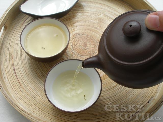 Příprava čaje metodou kung fu