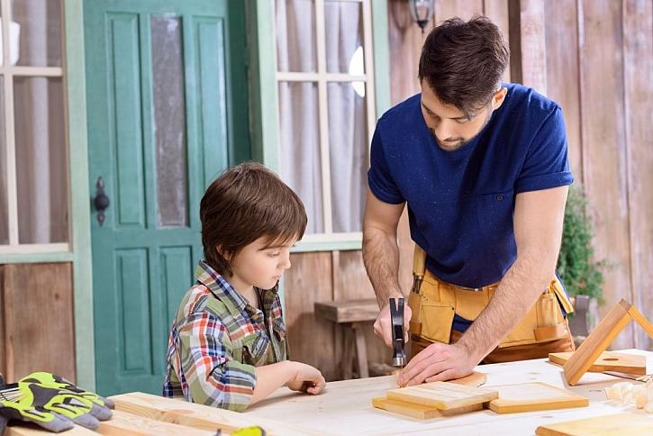 Nejlépe se pracuje s tátou