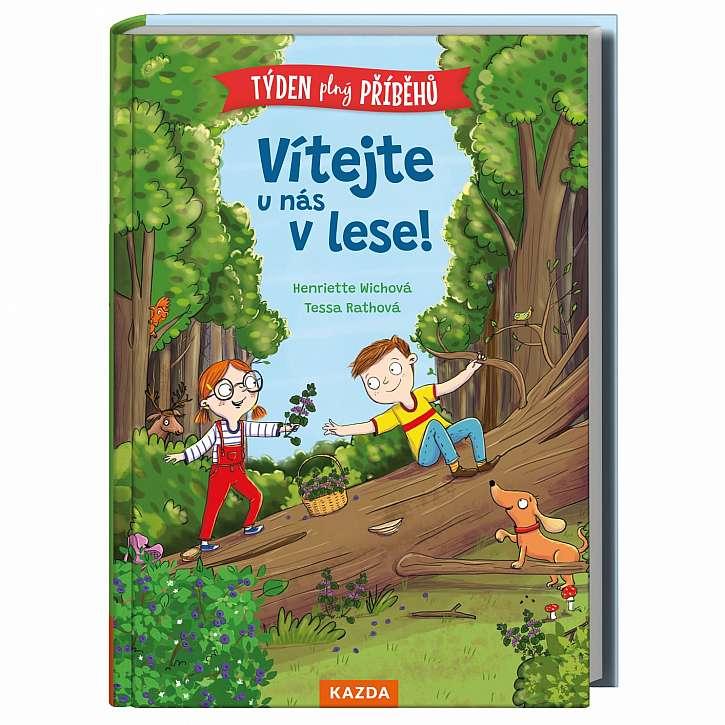 """Nová kniha pro předškolní děti a jejich rodiče """"Vítejte u nás v lese"""" (Zdroj: Kazda)"""