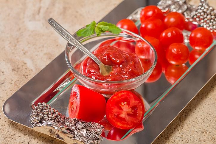 Domácí kečup z rajčat