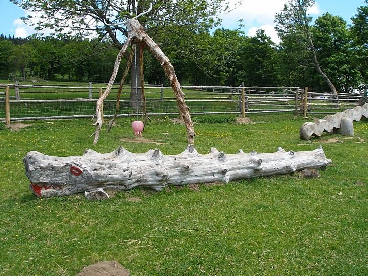 Tipy na dětská dřevěná hřiště