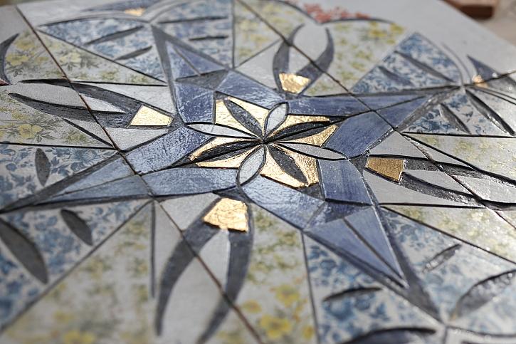 Mozaika z keramiky