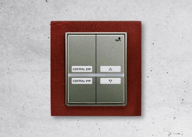 Ego-n - dvojnásobný tlačítkový snímač - chytrý vypínač