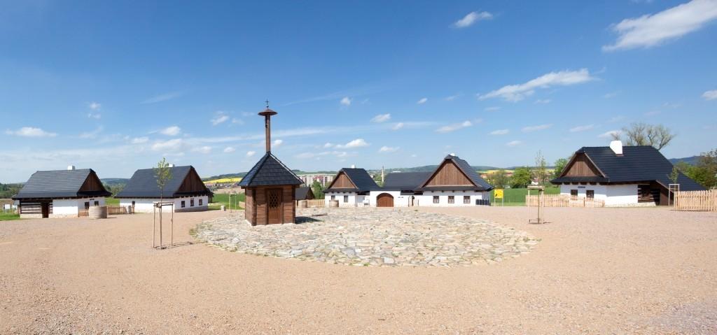 Replika horácké vesnice na Vysočině