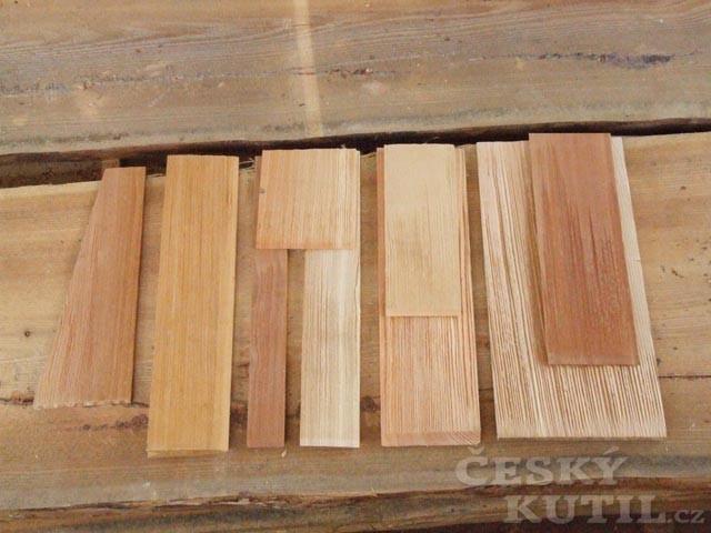 Šindelová střešní krytina 2 – výroba a vlastnosti