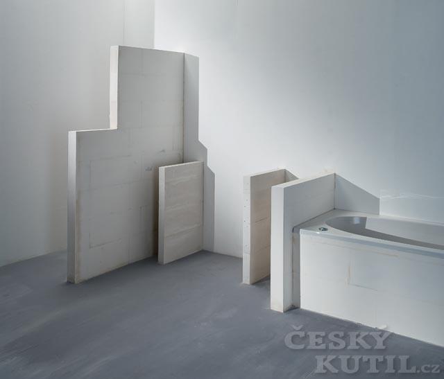 Řešení pro novou koupelnu: stavebnice Ytong