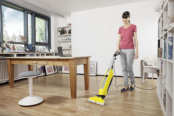 Čisté podlahy za chvilinku