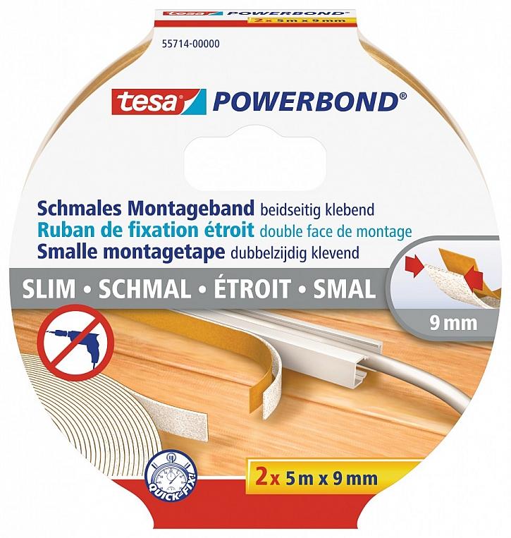 Ideální pro upevnění kabelových lišt, menších dekorací, LED pásů