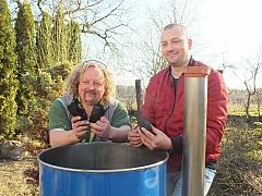 Vyrobte si vlastní dřevěné uhlí pro letní grilování