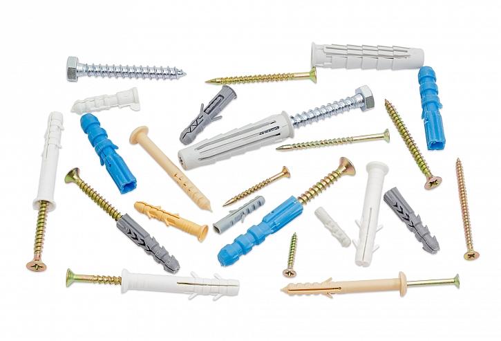 Přišroubování konzole - jaké hmoždinky a vruty zvolit pro jaký materiál (Zdroj: Depositphotos)