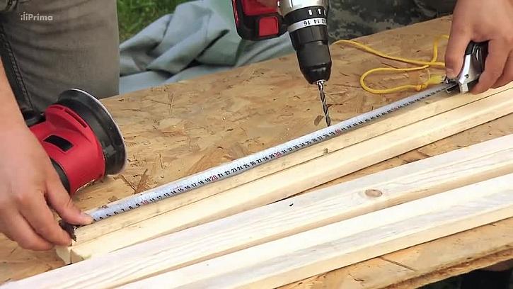 Měření délky pro vrtání
