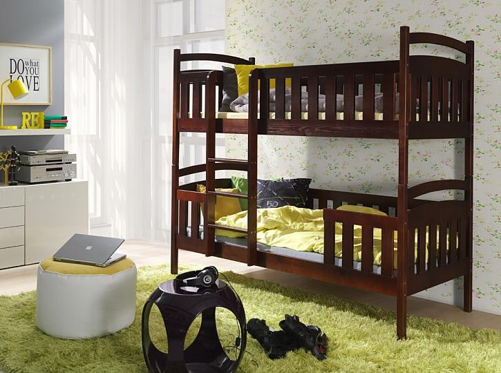 Elegantní patrovou postel Gina z e-shopu MT-nábytek.cz pořídíte ve třech velikostech, včetně roštů a matrací.