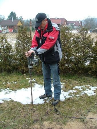 Možnost stavby plotů v zimě