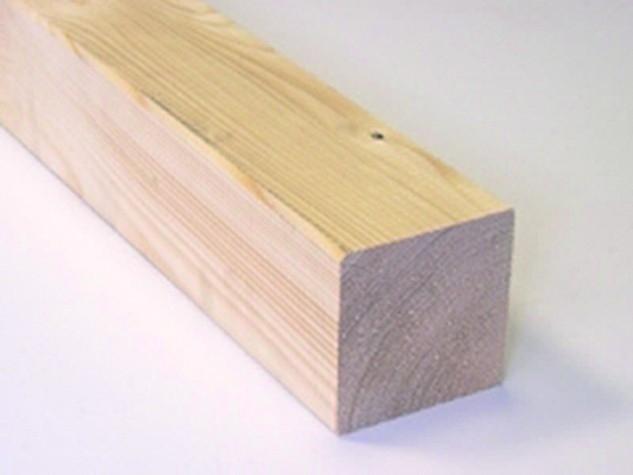 sušený dřevěný KVH hranol