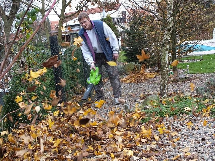 Foukač Greenworks aneb Vítr po celý rok