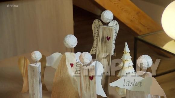 Výroba andílků