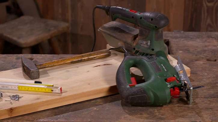 Dřevo a nářadí