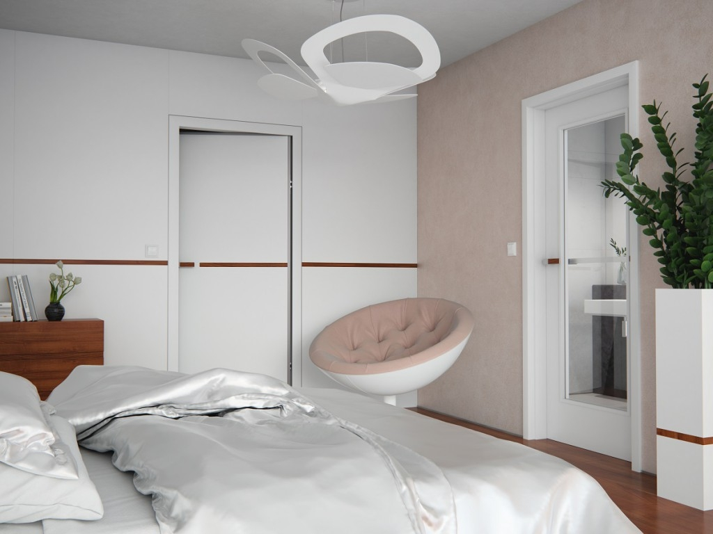 Bílé dveře od SAPELI – univerzální řešení do každého interiéru