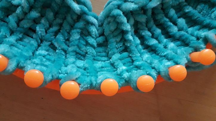 Detail pletení