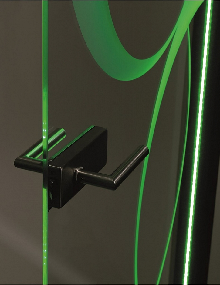 SAPGLASS s LED osvětlením – malá světelná show