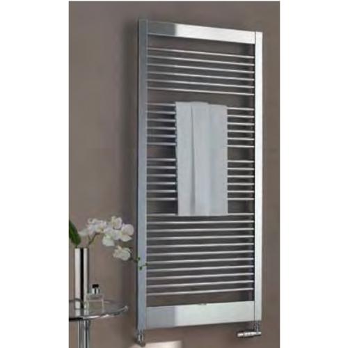 Kermi Credo-Uno koupelnový radiátor BH 1777x35x790mm QN844, chrom/chrom