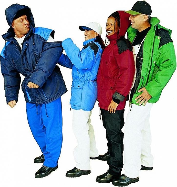 Pracovní oděvy a funkční prádlo na zimu Brudra