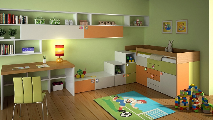 Pevná konstrukce dětských úchytek je obalena měkkou pryží, která je zdravotně nezávadná a minimalizuje nebezpečí úrazu