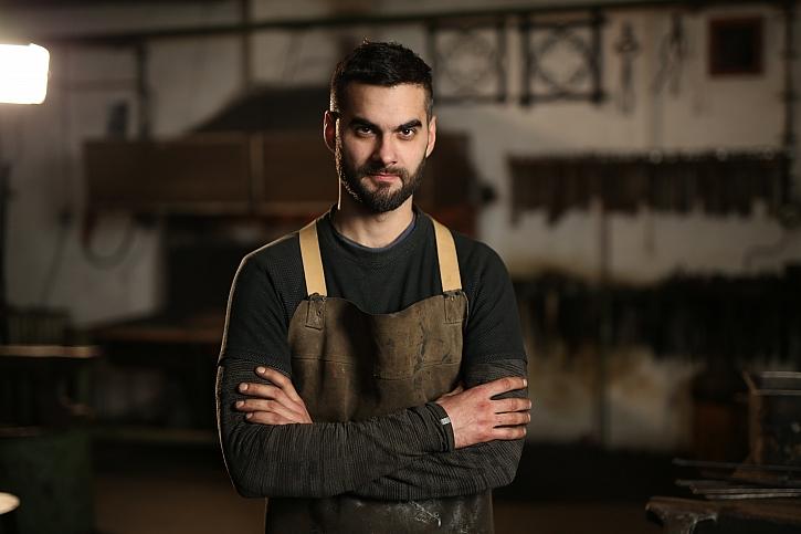 Milan Hejl - kreativní kovář