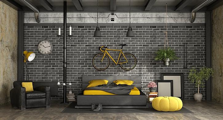 Čím je zajímavý industriální styl bydlení (Zdroj: Depositphotos)