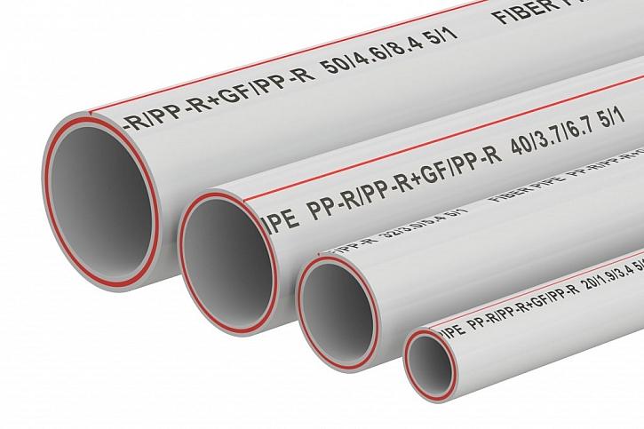 Plastové PP-R trubky jsou nejpoužívanější pro rozvody teplé vody do podlahového topení či radiátorů