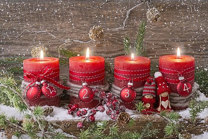 4 svíčky