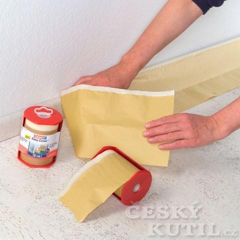 Maskování a ochrana pomocí fólie a malířské pásky