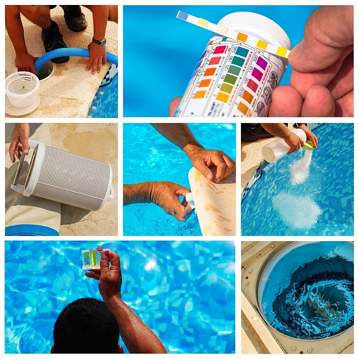 Bazénová technika pro snadnou údržbu