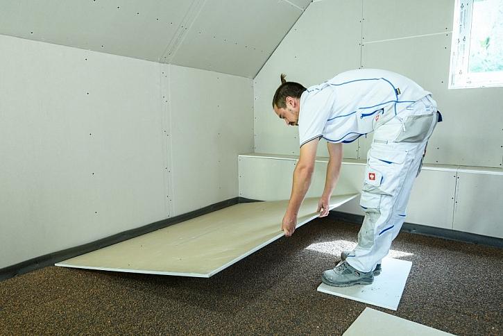 Suchá podlahaRigiStabil E25