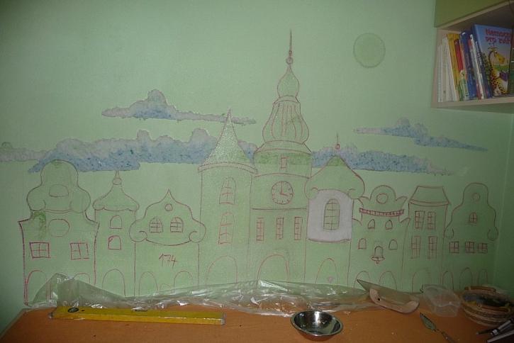 Izolační výtvarná plastika na zeď