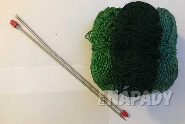 Ručně pletené ponožky: co budete potřebovat