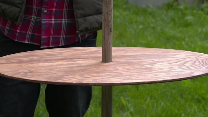 Jak vyrobit zahradní stolek
