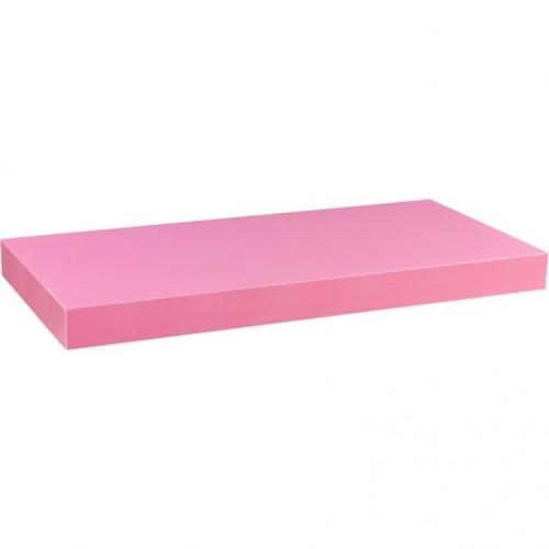 STILISTA VOLATO 31076 Nástěnná police  - růžová 110 cm
