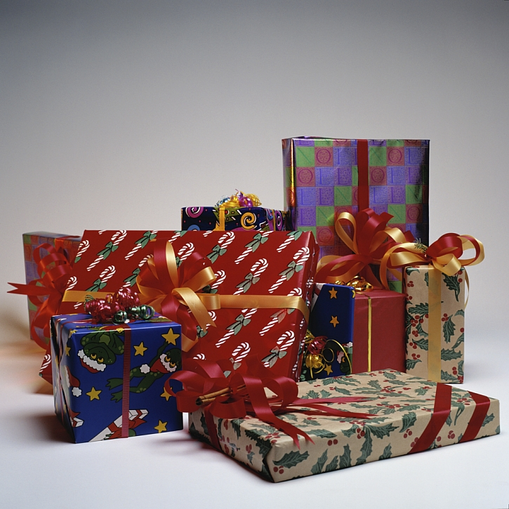 Desatero tipů pro balení vánočních dárků