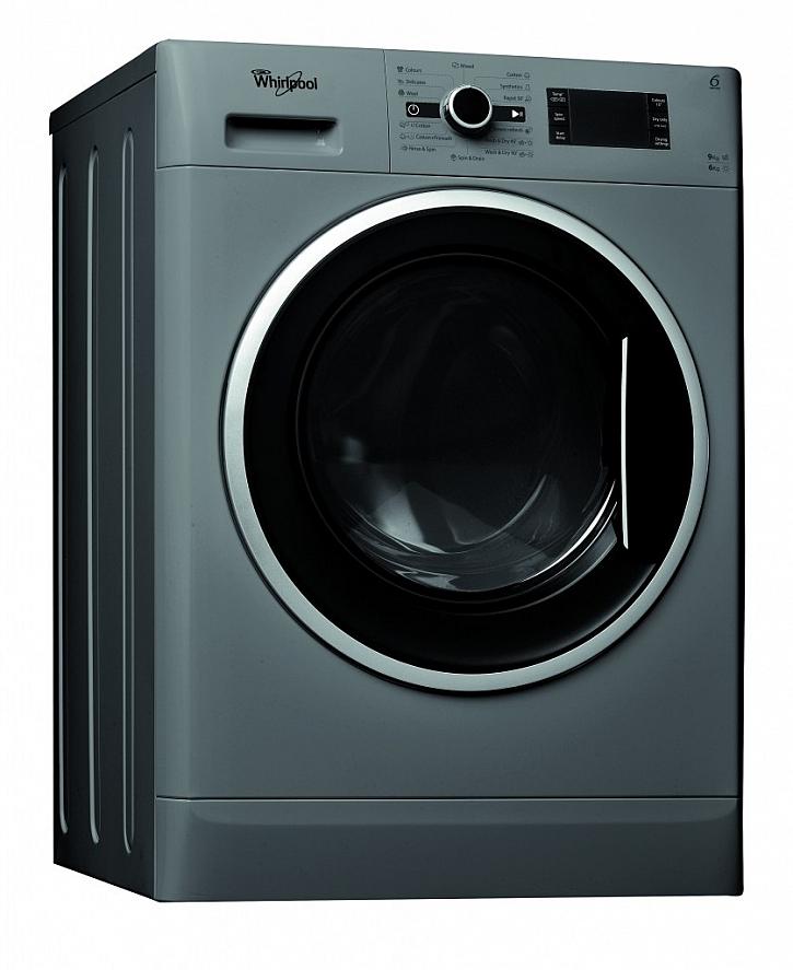 Pračko-sušička WHIRLPOOL WWDC 9614 S v energetické třídě A šetrná k prádlu