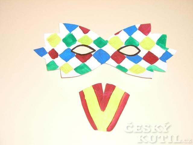 Jak vyrobit škrabošku na masopust či karneval